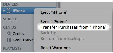 iphone transfer purchase
