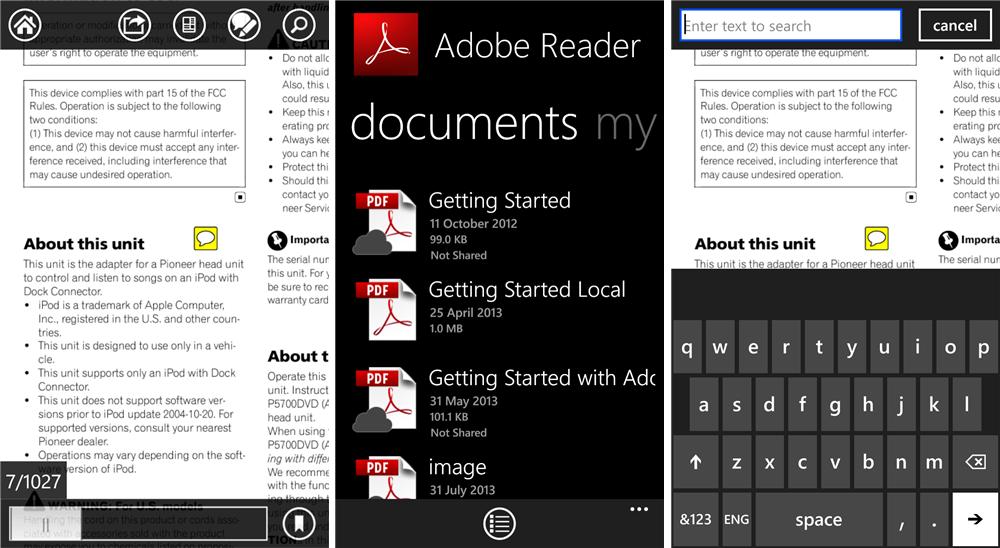 Download Acrobat Reader for Windows