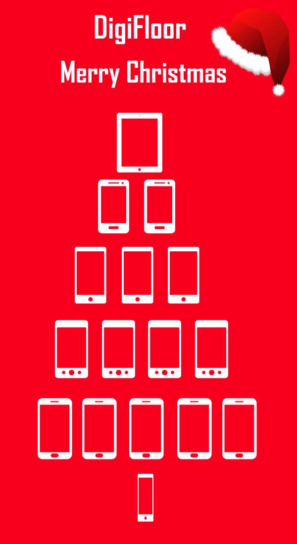digifloor christmas tree