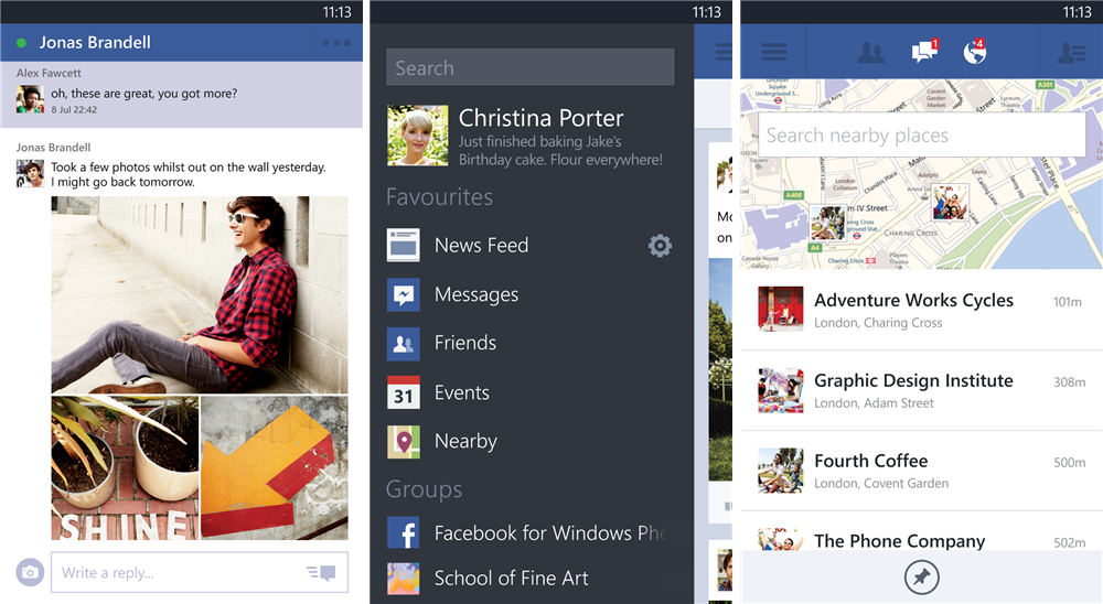 facebook windows snapshot