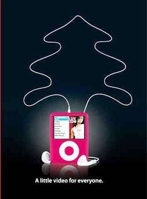 ipod christmas tree