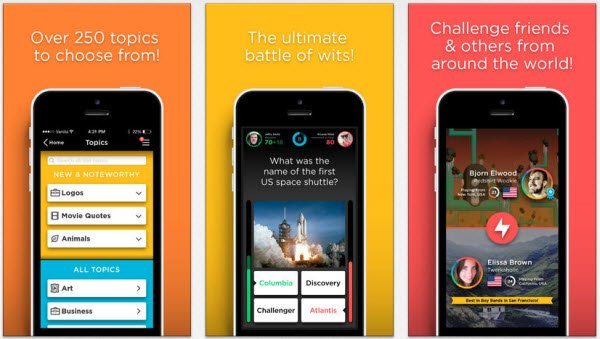quizup app feature