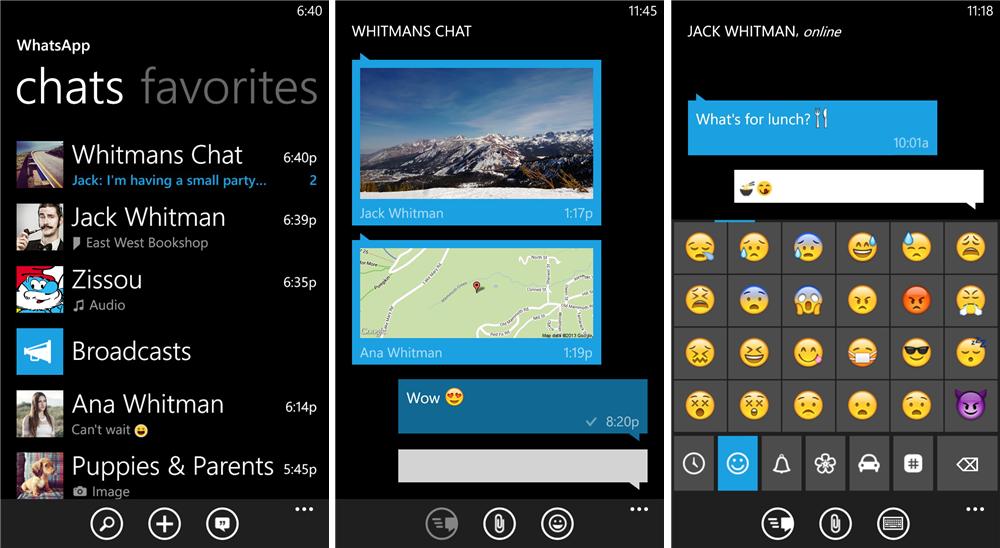 whatsapp windows snapshot