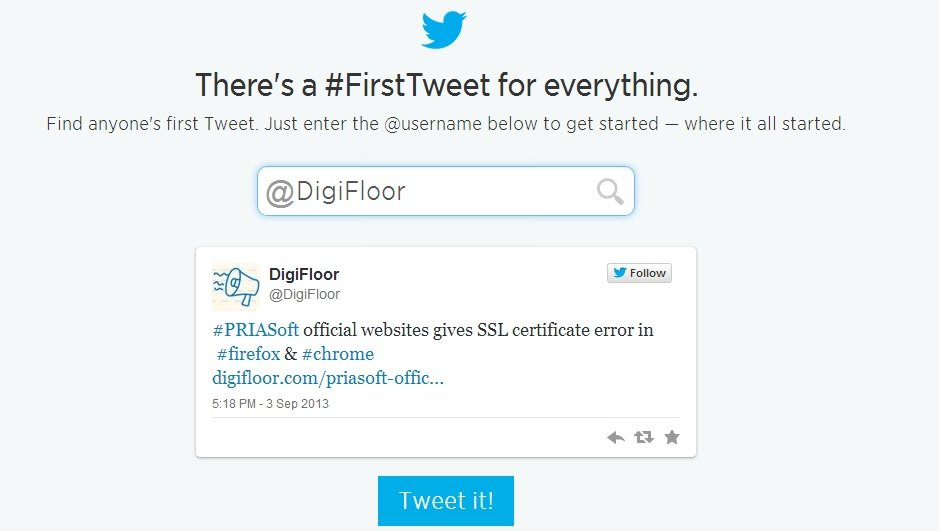 digifloor first tweet