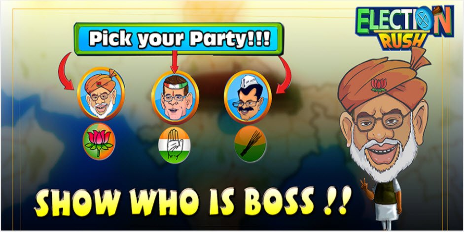 election rush android game