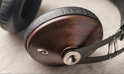 Wood headphone premium
