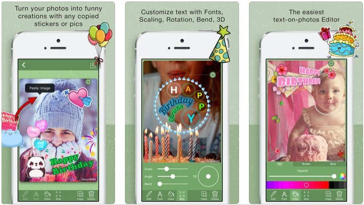 This One Is My Favorite Birthday Wishes Card Maker App You Can Also Download To Try Second Option Equipped With Various Features Help