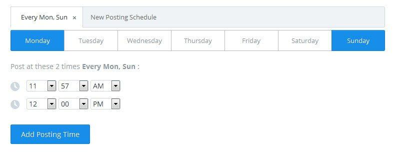 buffer app scheduling option