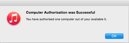 itunes-authorization-successfull
