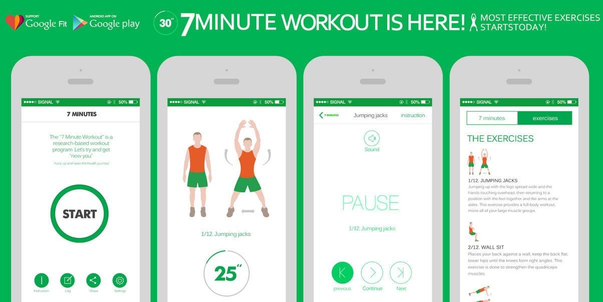 7 min workout