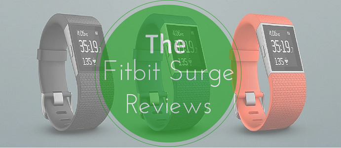 Fitbit Surge Fitness Tracker Reviews