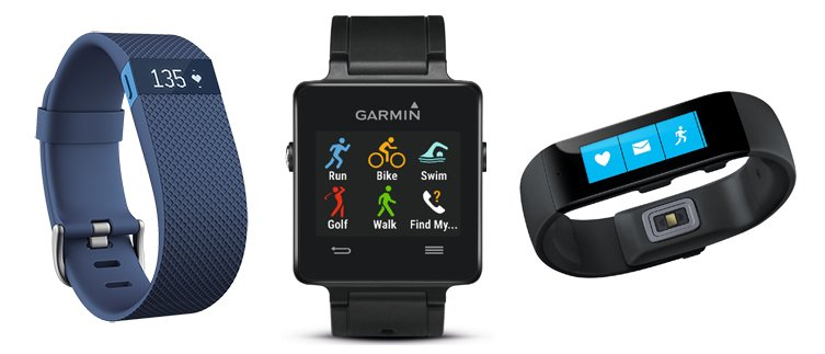 Fitness Trackers - Activity Bands - Sport Watches