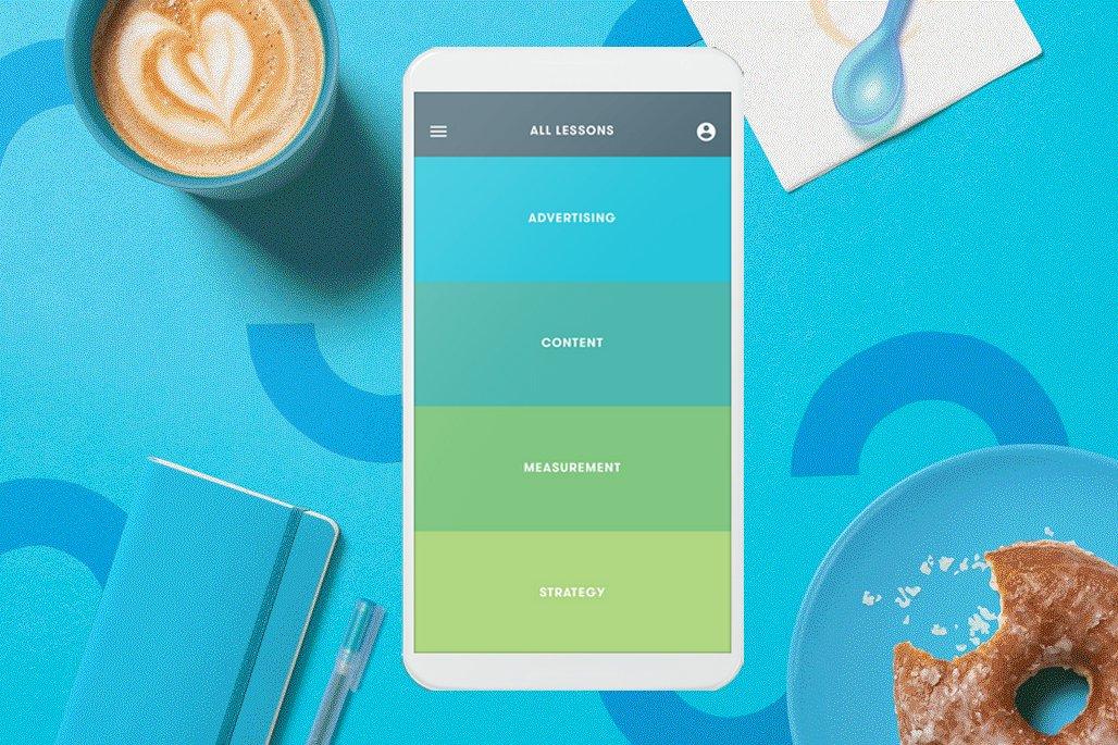 Google Primer Marketing Application