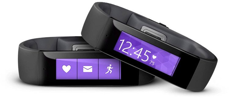 Microsoft Bands - Comprehensive Fitness Health Band