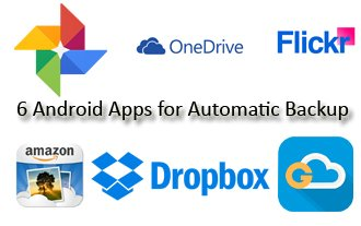 6 Android Apps for automatic backup