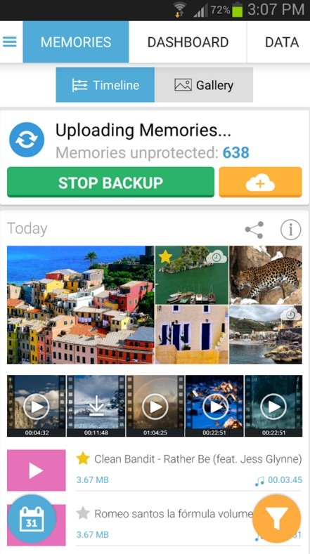 G Cloud Backup android application