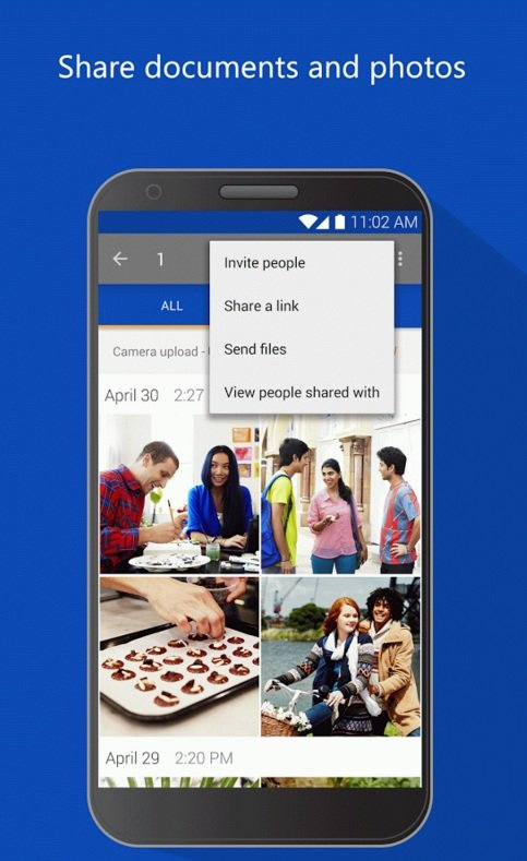Microsoft OneDrive – cloud storage android application