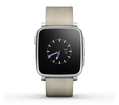 Pebble Time Steel Smart watch