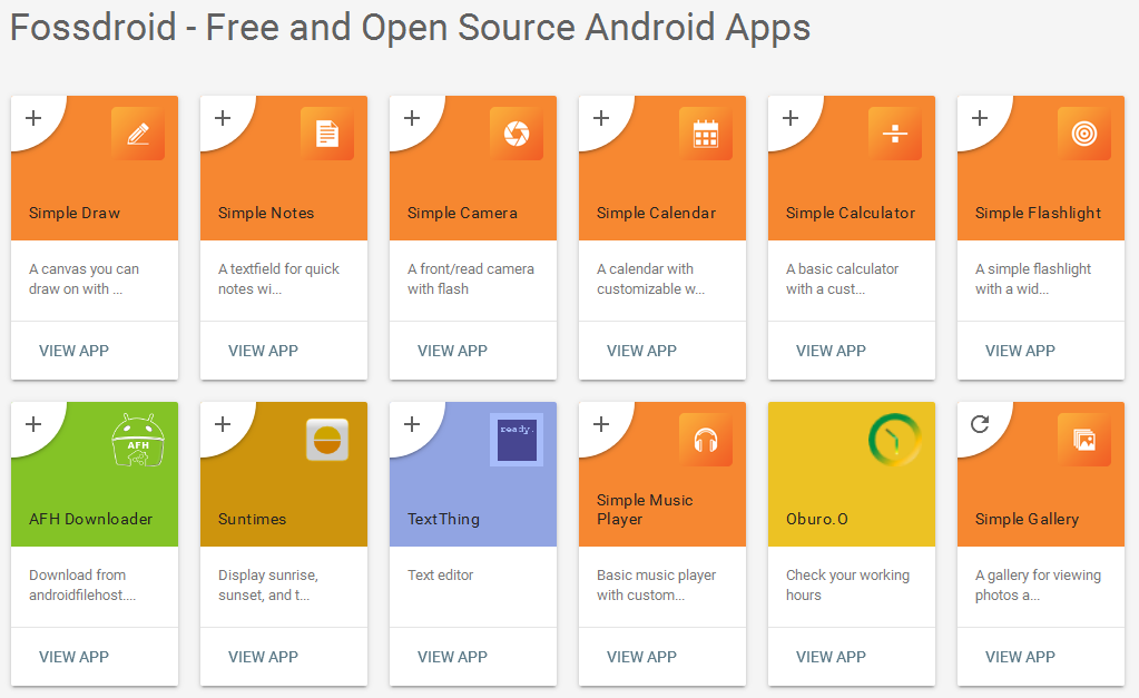 free android application 7 free open source android app source code websites to 22175