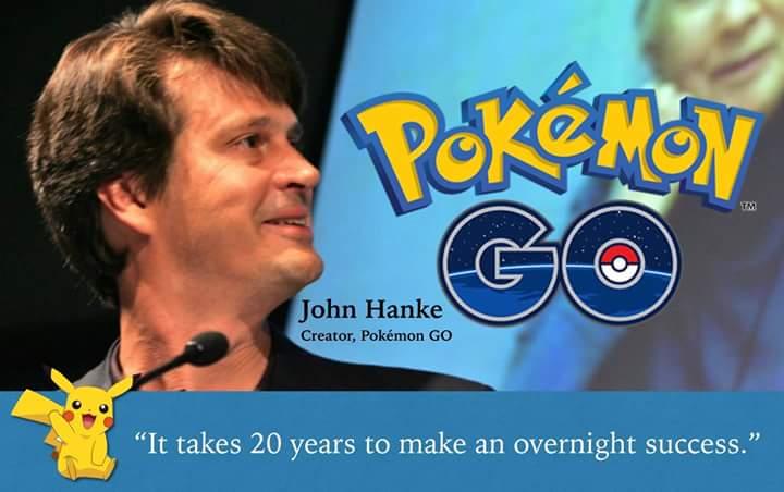 john hanke pokemon go