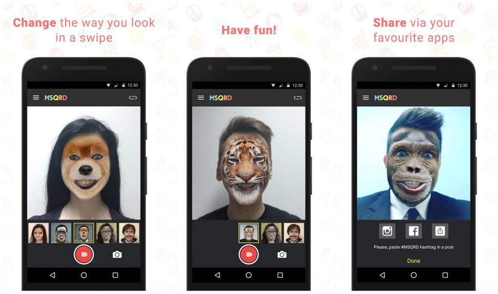 msqrd android app