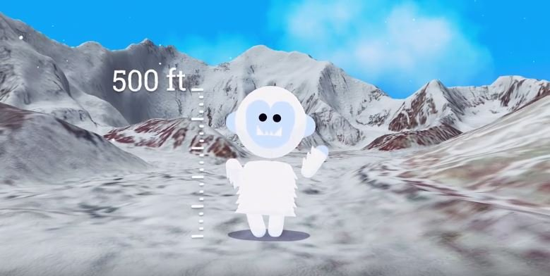 Yeti verne the himalayas game