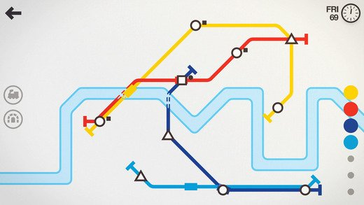 Mini Metro Mobile Game
