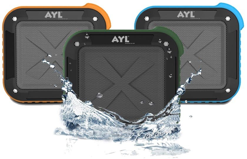 Portable Outdoor and Shower Bluetooth 4.0 Speaker by AYL SoundFit