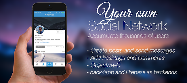 Social Network Template App