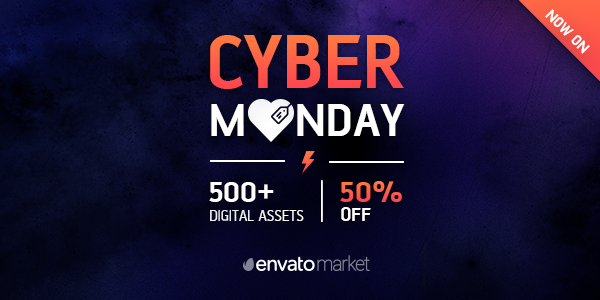 Envato Cyber Monday Sale