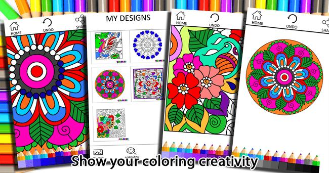 Colorize Adult Coloring App