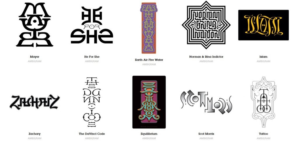 These 3 Ambigram Generators To Design Your Own Art Tattoo Looks Wow