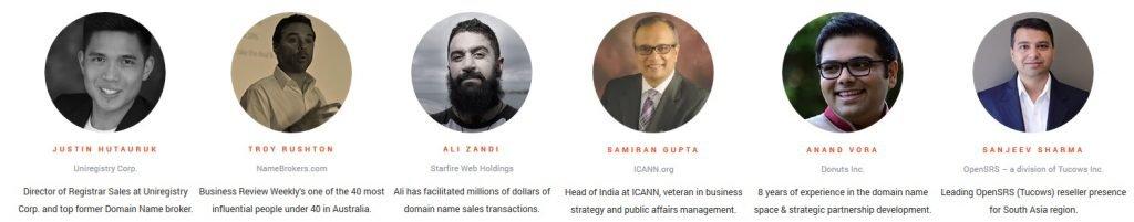 DomainX Delhi Speakers