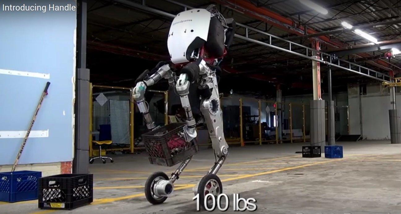 handle boston dynamics robot