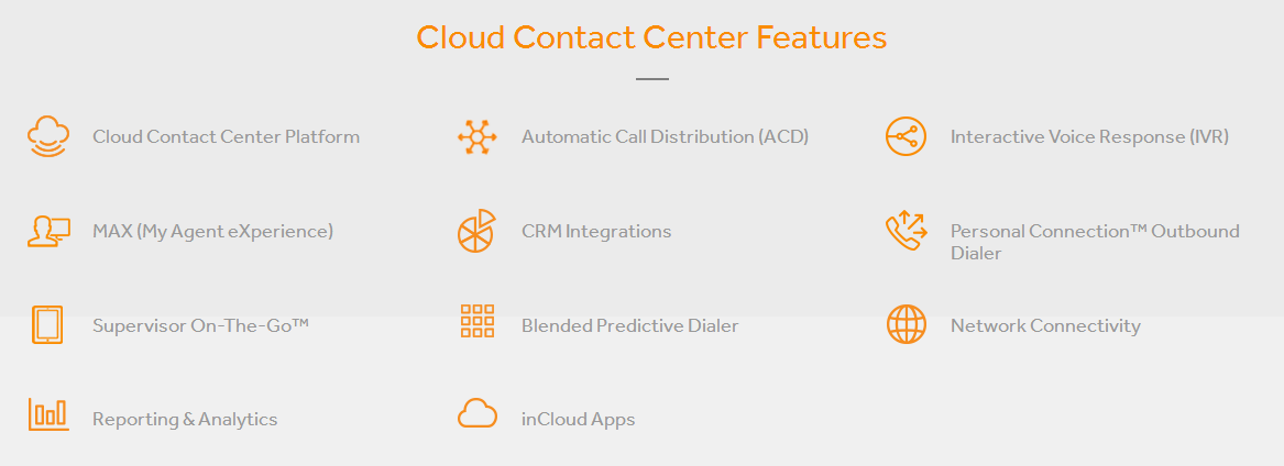incontact features