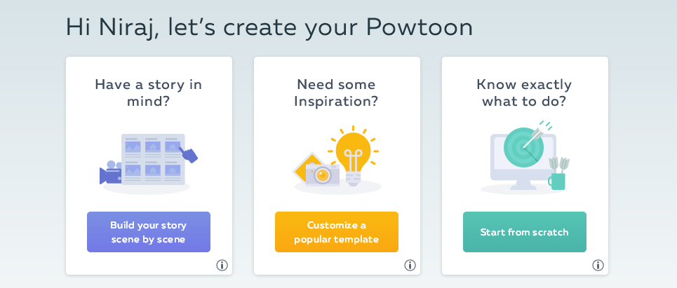 powtoon design option