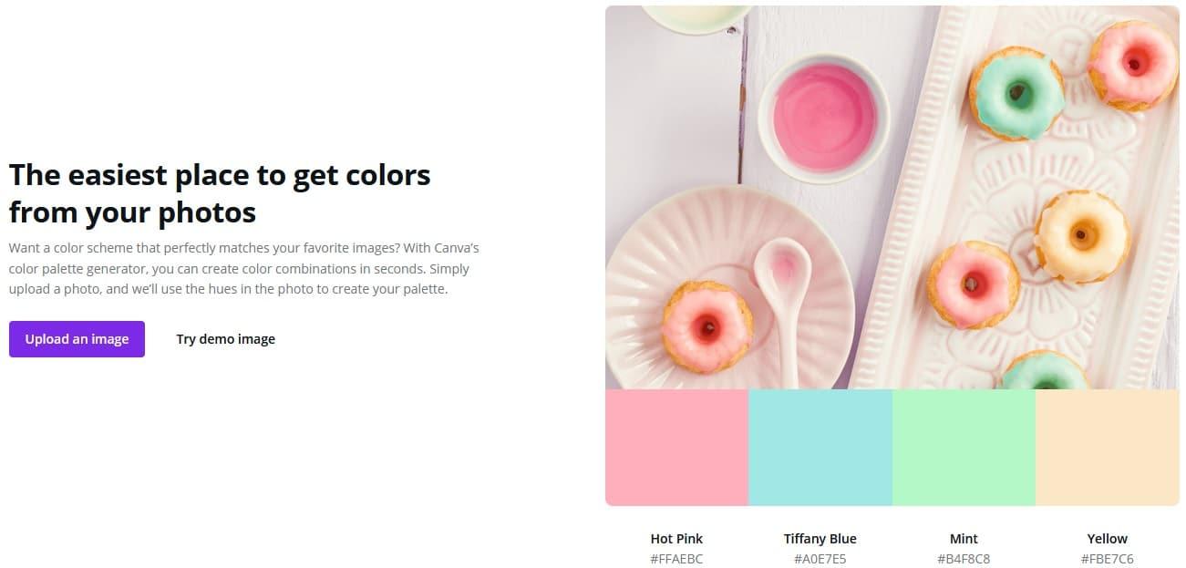 Canva Color scheme generator