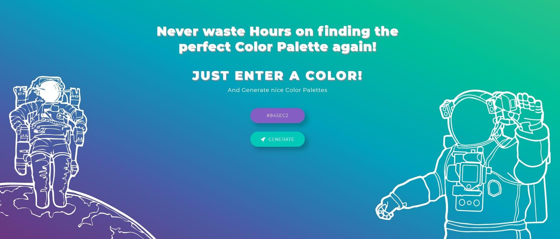 ColorSpace Color Scheme Generator