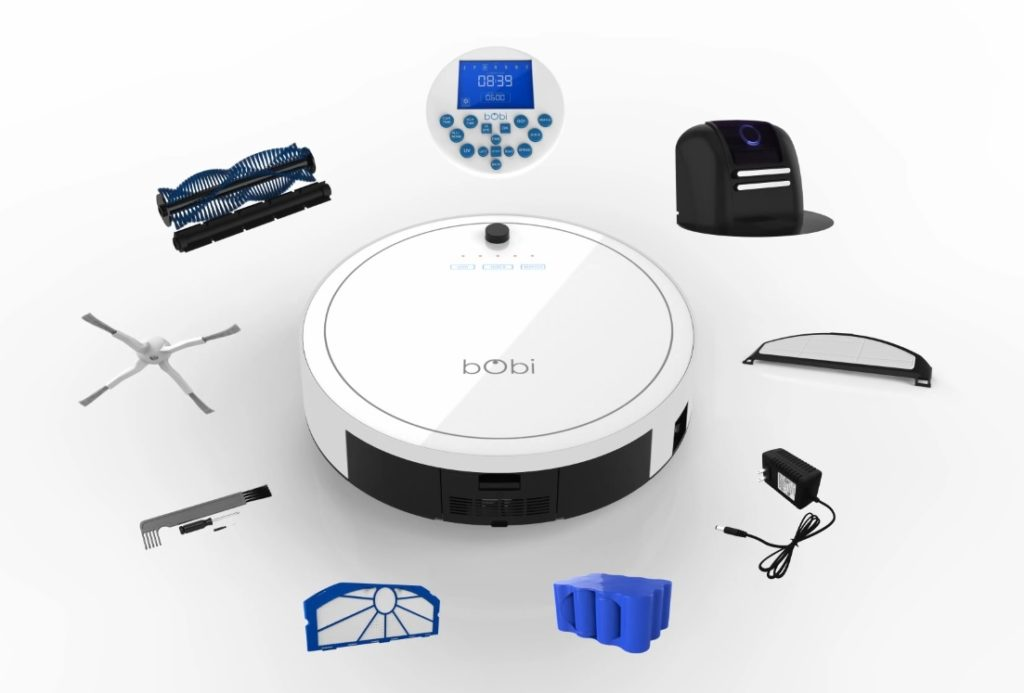 bObi Classic™ Robotic Vacuum Cleaner and Mop by bObsweep