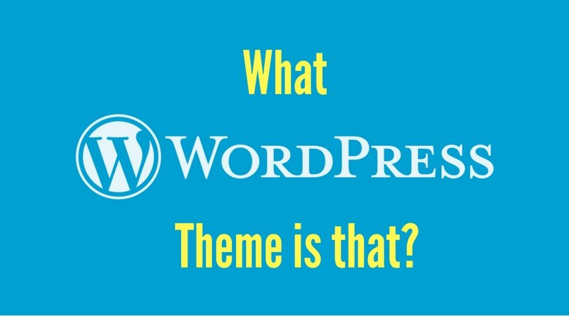 What wordpress theme is that?
