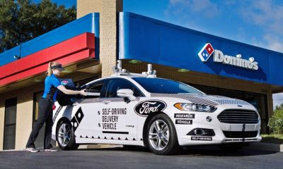 ford dominos self drive car