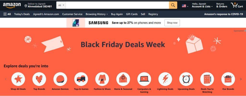 Amazon Black Friday Deals 2020