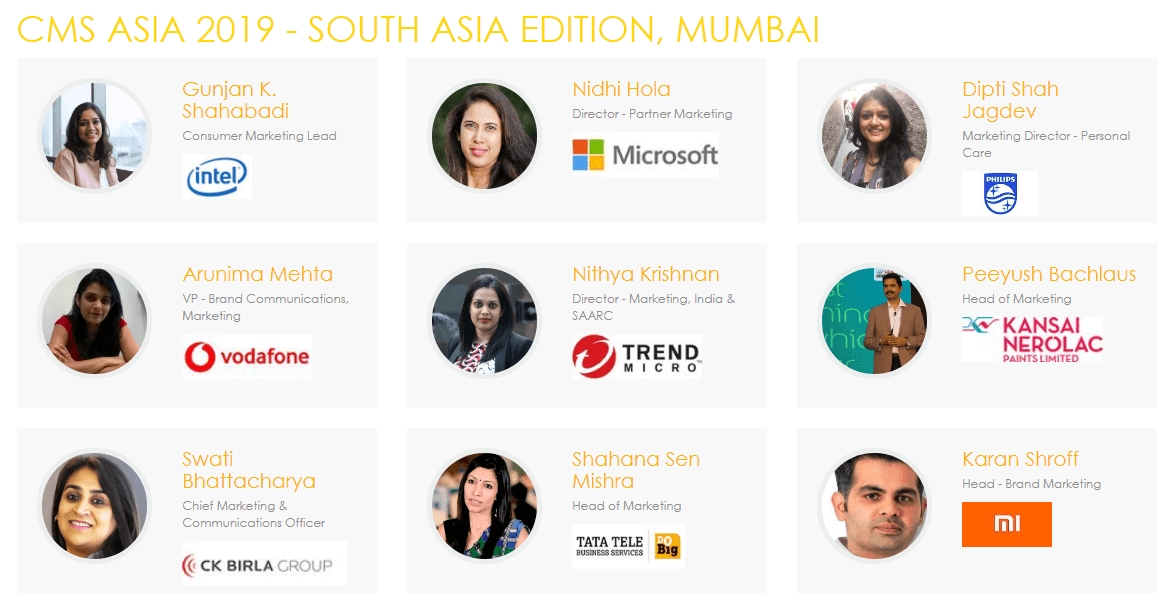 Content Marketing Summit South Asia, Mumbai