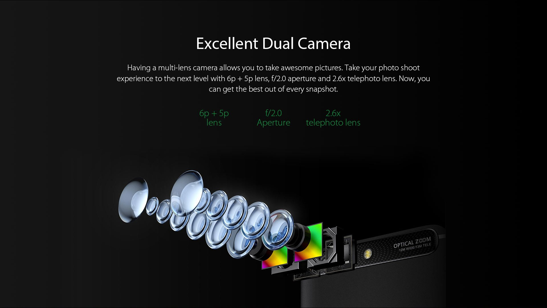 Infinix zero5 dual camera