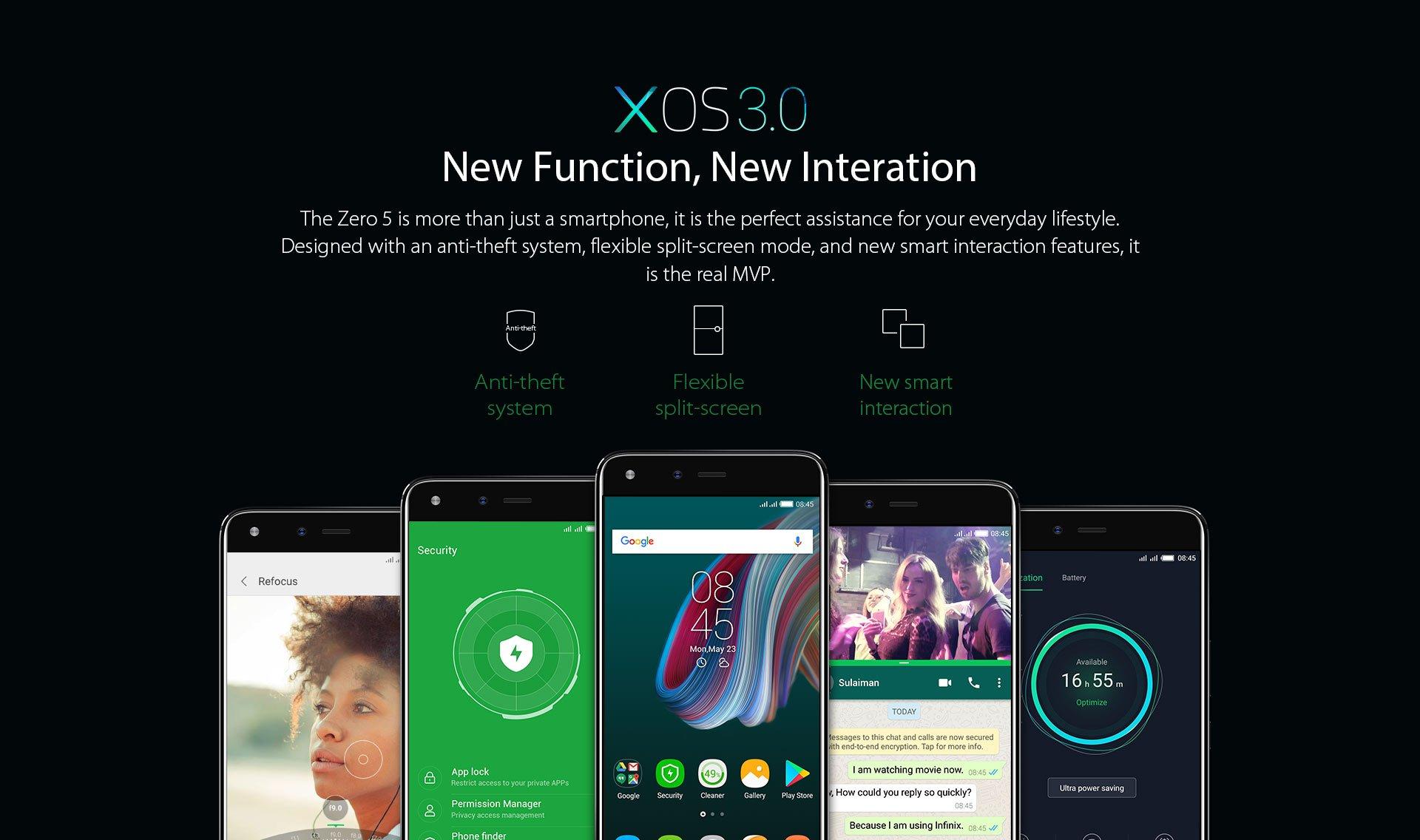 Infinix Zero5 features