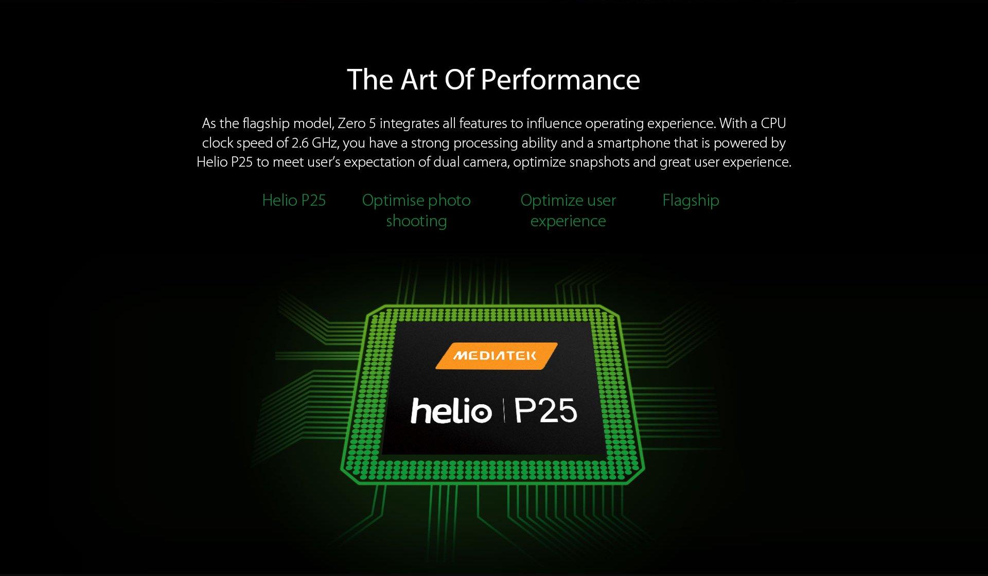 Infinix Zero5 Processor