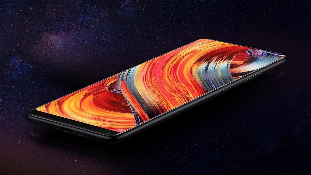 xiaomi mi mix 2 black smartphone