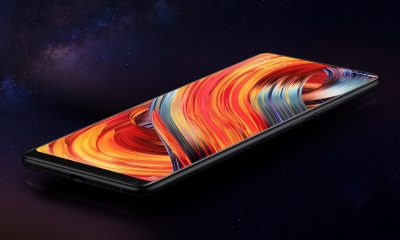 xiaomi mi mix 2 black smartphone