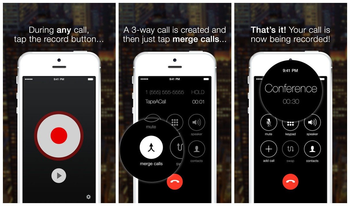 TakeACall Pro for call recording