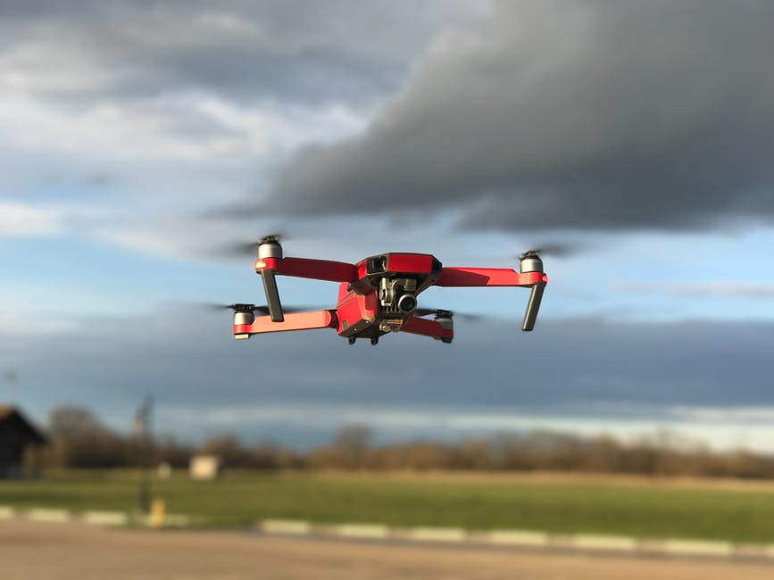 drone use for flight planning